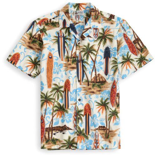 HSS101-Aloha-Republic Hawaiian Shirt