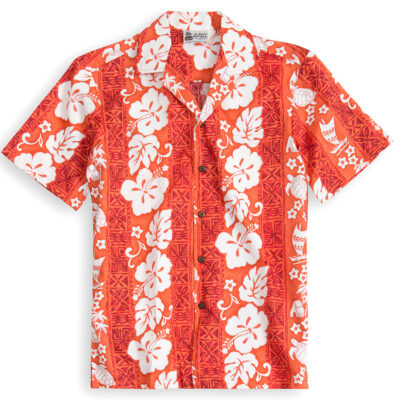 HSS109-Honolulu-Honu 100% cotton, 100% genuine Hawaiian Shirt