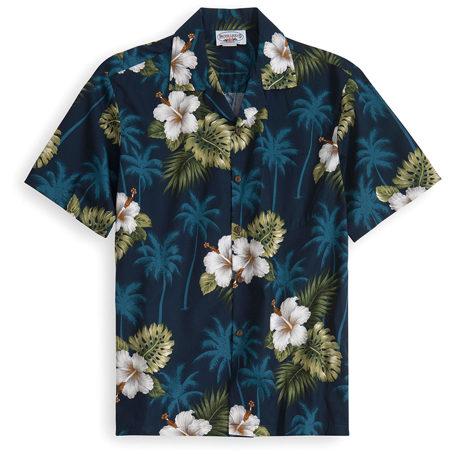 Blue Palms Hawaiian Shirt at The Hawaiian Shirt Shop, UK