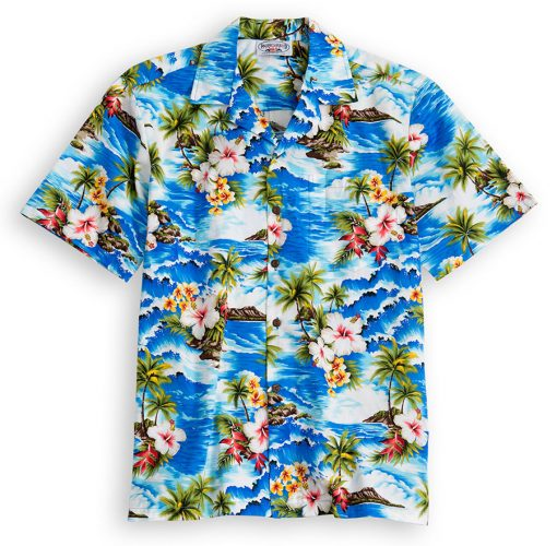 Palm Beach Hawaiian Shirtsat The Hawaiian Shirt Shop, UK