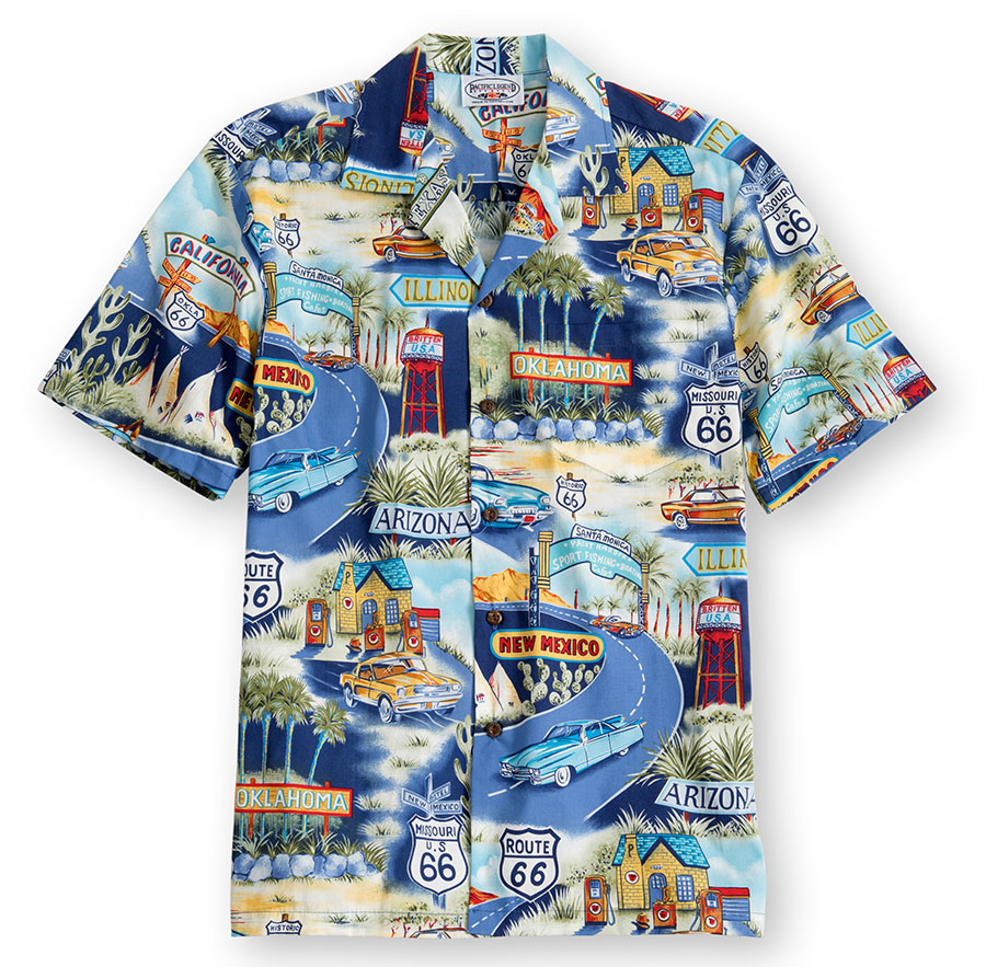 New Mexico Hawaiian Shirt at The Hawaiian Shirt Shop, UK