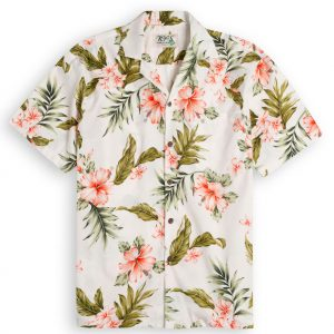 Kauwela Days Mens Hawiian Shirt 100% cotton