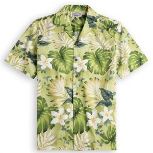 Palmolive Mens Hawiian Shirt 100% cotton