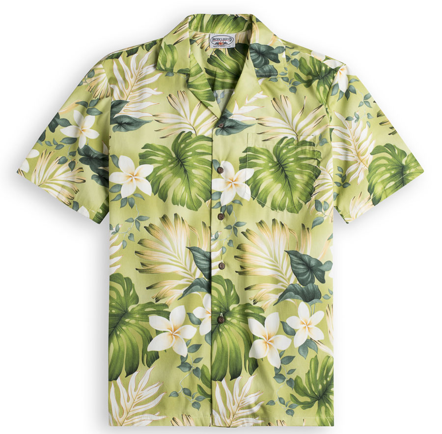 Palmolive Mens Hawiian Shirts 100% cotton