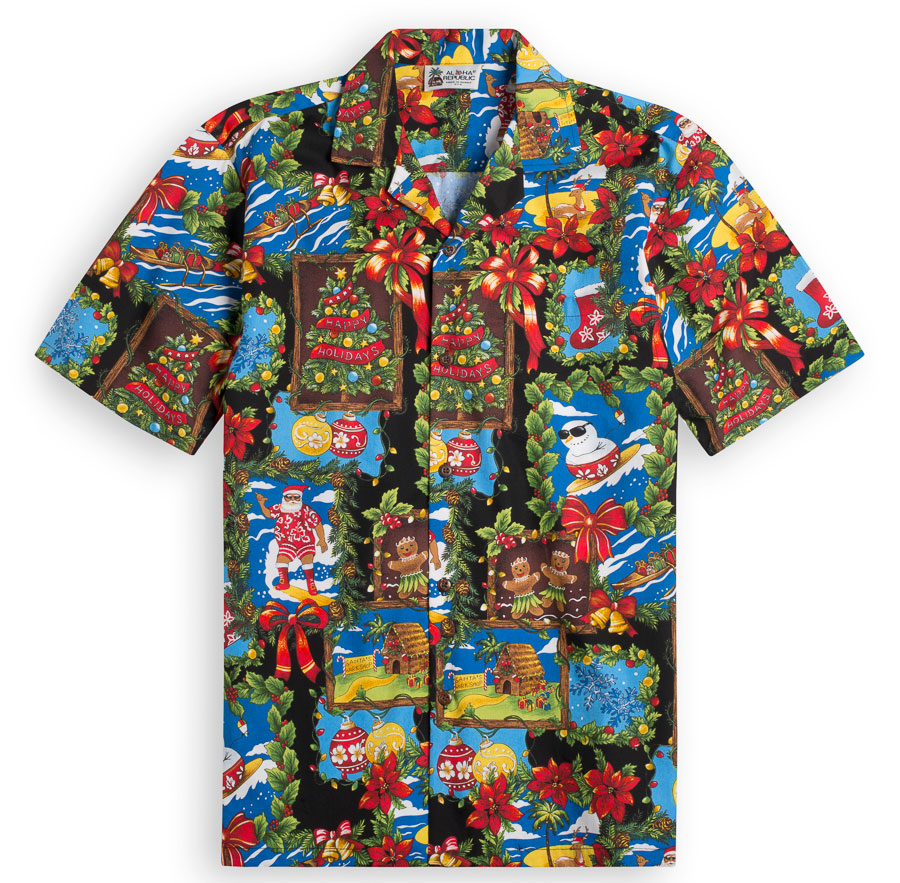 Honolulu Holidays Hawaiian Shirts at The Hawaiian Shirt Shop, UK