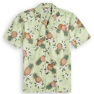 Pineapple Valley Mens Hawaiian Shirts