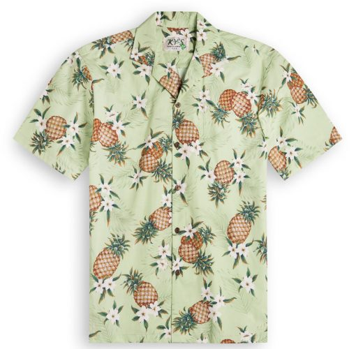Pineapple Valley Mens Hawaiian Shirts