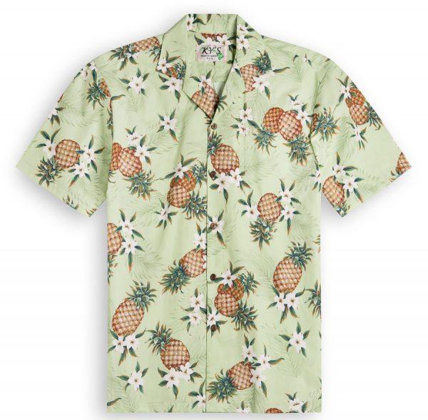 Pineapple Valley Mens Hawaiian Shirt