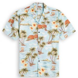 Island Life Mens Hawaiian Shirt