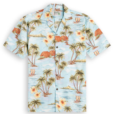 Island Life Mens Hawaiian Shirts