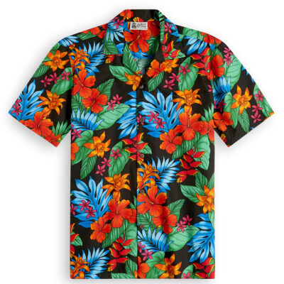 Floral Hipster Hawaiian Shirts at The Hawaiian Shirt Shop, UK
