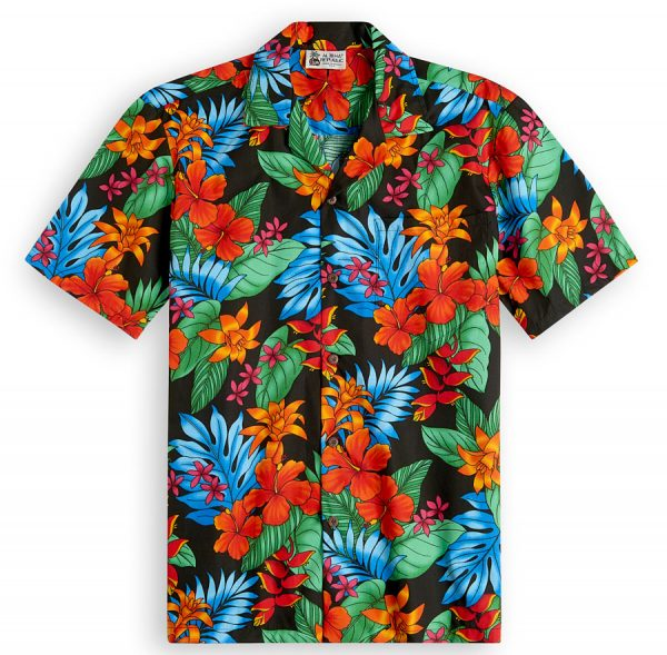 Floral Hipster Hawaiian Shirts at The Hawaiian Shirt Shop, UK