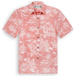 TP2500 Love Shack Reverse Print Hawaiian Shirts