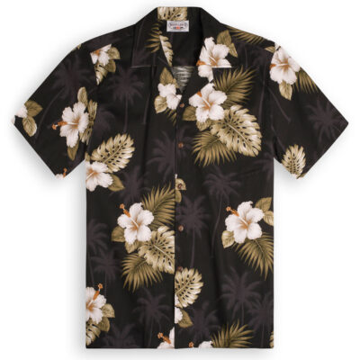 Black Palms Hawaiian Shirts at The Hawaiian Shirt Shop, UK