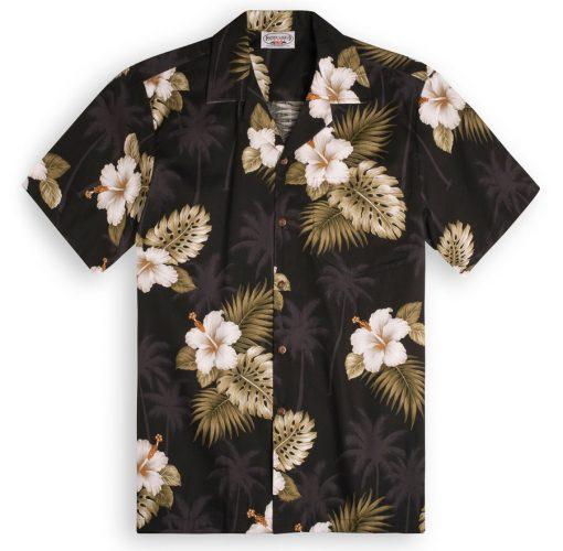 Black Palms Hawaiian Shirts at The Hawaiian Shirt Shop, UK