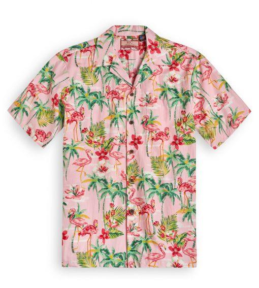 RJC603 Flamingo Royale Pink from the Hawaiian Shirt Shop UK