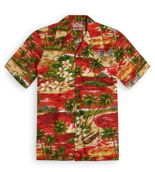 RJC605 Sundowner Beach from the Hawaiian Shirt Shop UK