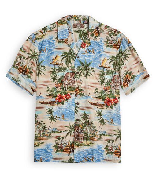 RJC700 Malolo Beach from the Hawaiian Shirt Shop UK