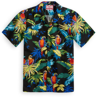 RJC613 Macaw Mania Hawaiian Shirt