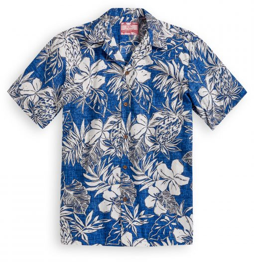 RJC614 Plantation Garden Hawaiian Shirt