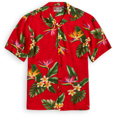 RJC706 Birds of Paradise Hawaiian Shirt