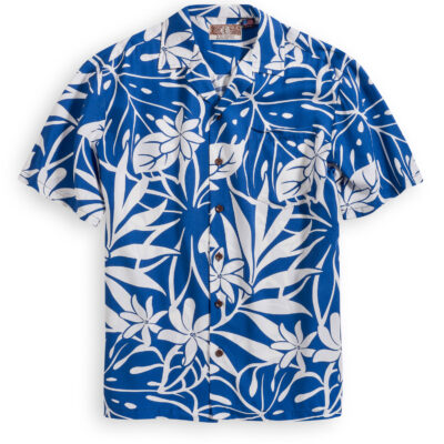 RJC707 Wailea Palms Hawaiian Shirt