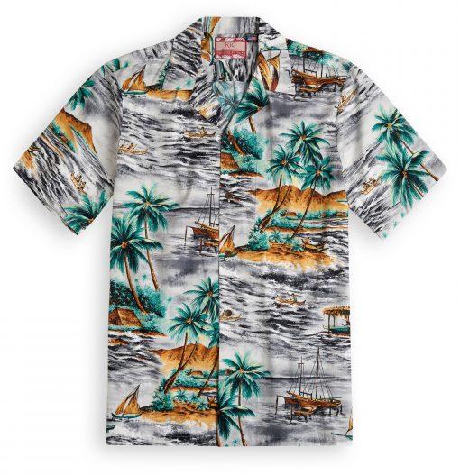 RJC619 Milolii Beach Hawaiian Shirt