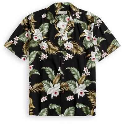 KYS518 White Plumeria Hawaiian Shirt