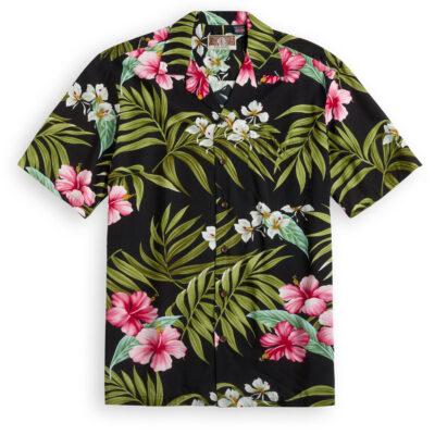RJC711 Wailuku black Hawaiian Shirt