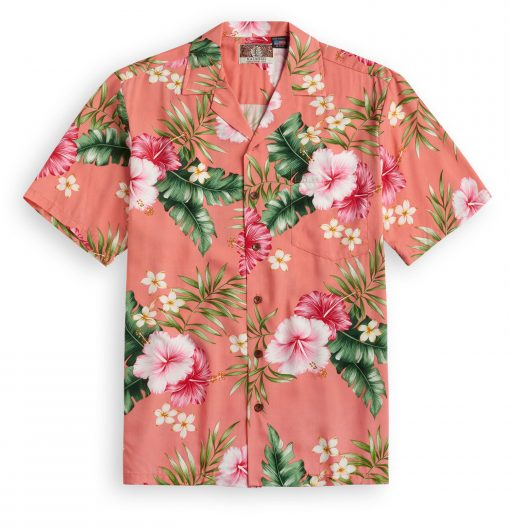 RJC715 Just Peachy Hawaiian Shirt